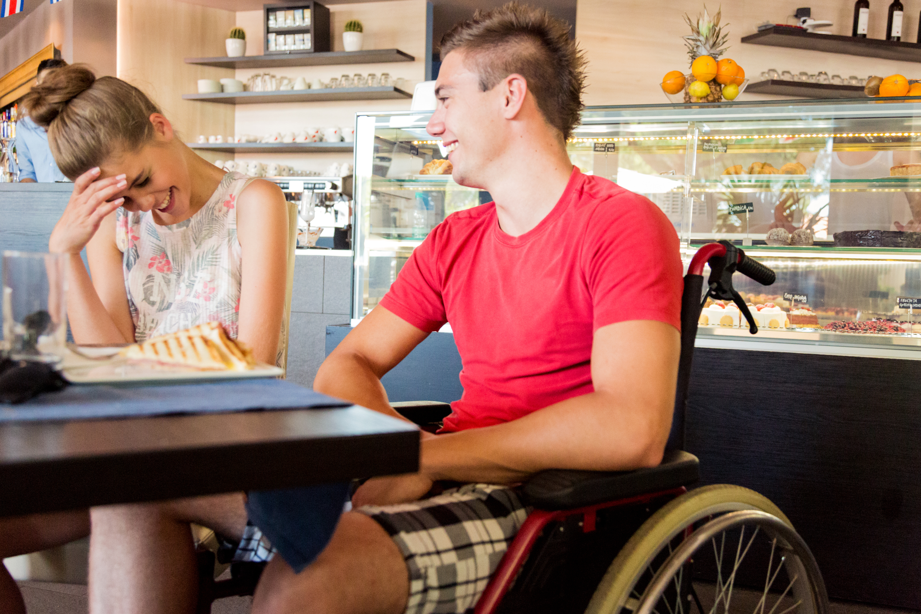 Online Dating: On A First Date With Someone, How Do You Handle Telling Them About A Disability You Have That They're Going To Notice Anyway?